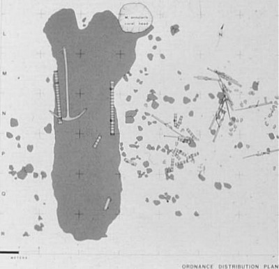 molasses reef wreck map|104