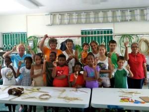 Children's Club participants -- all smiles!